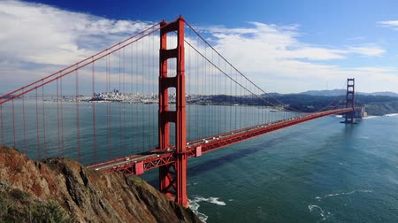 filo : il traffico di San Francisco Golden Gate Bridge