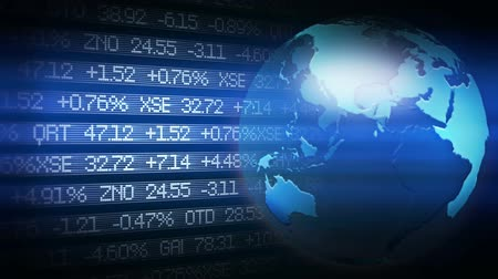 wealth : Global Finance Stock Market Animation