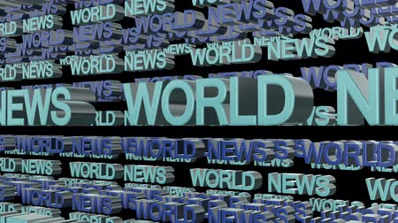 título : World News Looping Text