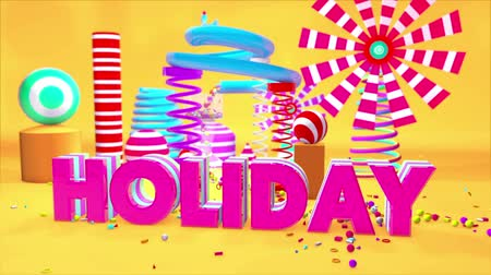 holidays : Holiday Motion Graphics PlayGround 3D