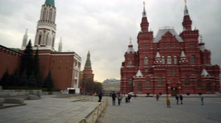 moscow panorama : Moscow, Russian Federation - March 17, 2017: Shooting a circular panorama of Red Square in Moscow.