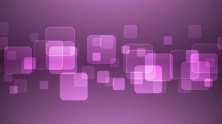 quadrado : Abstract Overlapping Rectangular Shapes on Magenta Background. Animated Seamless Looping Motion Design.