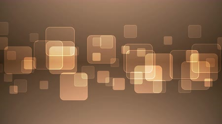 átfedés : Abstract Overlapping Rectangular Shapes on Orange Background. Animated Seamless Looping Motion Design.