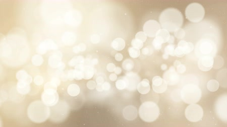Abstract glow bokeh background. Circles are slowly flying forward. Seamless loop digital animation.