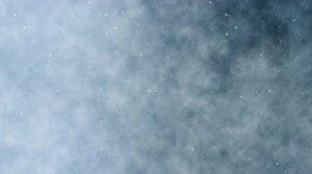 Winter wonderland abstract background. Seamless loop christmas theme animation.