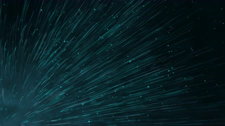 Futuristic digital background with animation of lines and dots. Seamless loop abstract motion theme backdrop. Dostupné videozáznamy