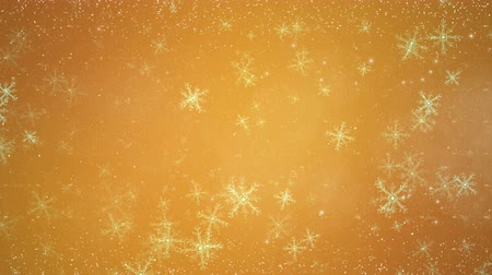Christmas greeting video card with circuit snowflakes. Seamless loop animation of abstract winter holiday background. Magic happy new year backdrop.
