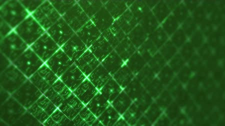 Green abstract digital techno circuit. Seamless loop animation of technology background. Vídeos