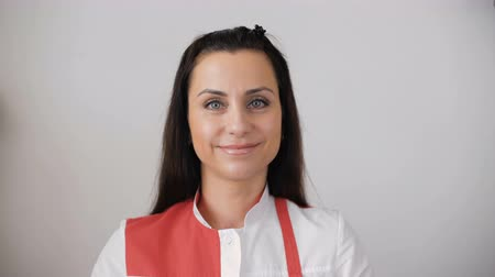 ügyintézés : Portrait of female receptionist