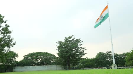 memorial day : Indian Flag Flying on Garden