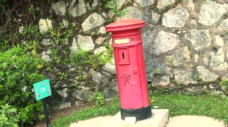 bureau de poste : penang hill, victoria post box