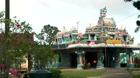bohyně : Exterior Traditional Hindu temple in Malaysia.
