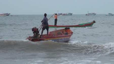 fisher : Fishing Boat Going Out to Sea