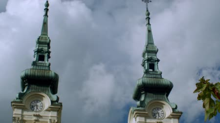 Stojan Square and Church of Our Lady Queen of Ostrava