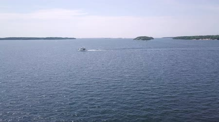 kano : killbear provincial park. Aerial view of the Georgian bay.