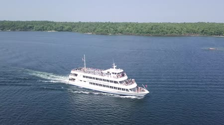 kraliçe : Parry Sound, Ontario. Island Queen Cruise