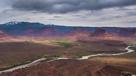 долина : Professor valley overlook timelapse utah 4k high definition made from High Quality Raw Files