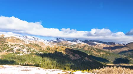 passar : Loveland Pass Colorado UHD Time-lapse Stock Footage
