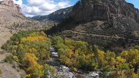 ribeiro : Tensleep Creek Wyoming Landscape Fall Colours