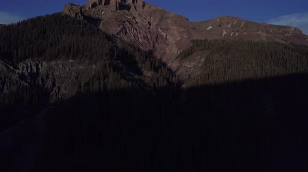 плато : San Juan Mountains at Sunset aerial Colorado Uncompahgre National Forest