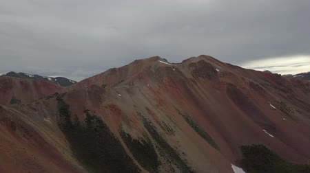 Corkscrew Gulch Pass Red Mountain no 1 Colorado Aerial