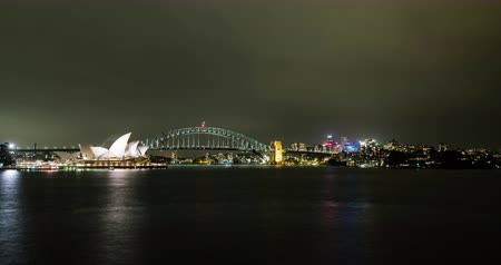 Ópera de sidney : Sydney at Night (time-lapse)