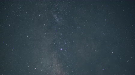 snowcapped : Mt. Fuji and Milky Way in the Night Sky (down tilt)