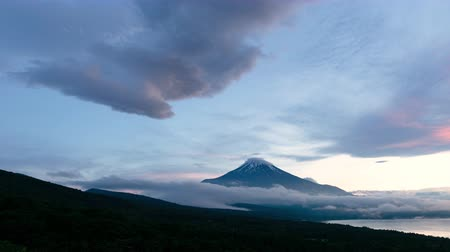 lookout point : Mt. Fuji captured from Mikuni Pass Panoramadai in Yamanakako village, Yamanashi prefecture, Japan