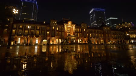 tokyo station : Marunouchi + Exit + of + Tokyo + Station + at + Night +% 28will + be + on + the + 10% 2C000 + yen + Note + from + 2024% 29