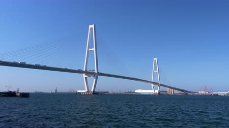 triton : LargeCable-Stayed Bridge in Nagoya Japan (Meiko Triton - Meiko Chuo Oohashi)
