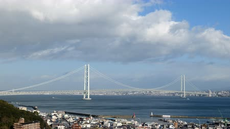 подвесной : Akashi Kaiky Bridge, the Biggest Suspension Bridge in the World