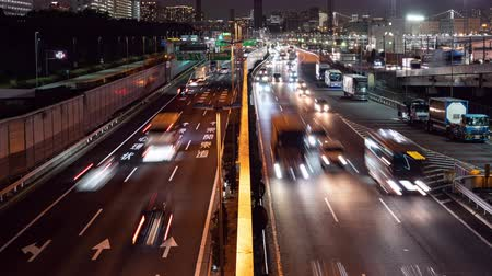 Time-lapse Video of Highway Traffic in a Big City