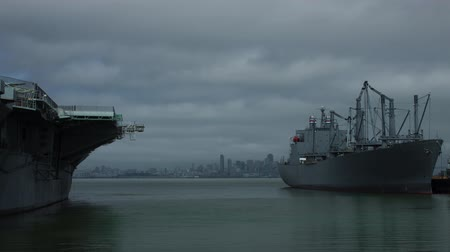 Time Lapse of Alameda Navy Ships