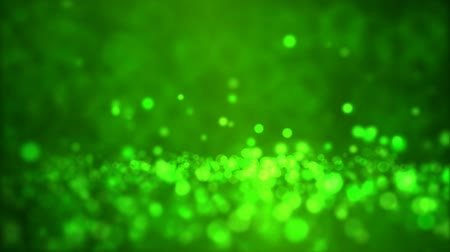 calcário : Particle Background - Loop Green