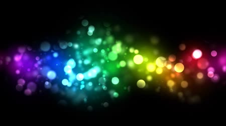 цветной : Abstract Particle Background - Loop Rainbow