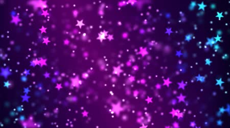 star shape : Star Particle Background Animation - Loop Stock Footage