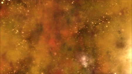 orange background : Space Travel through Star FieldNebula - Loop