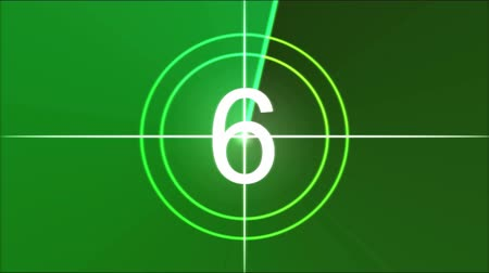 crosshair : Movie Countdown Animation - Rainbow