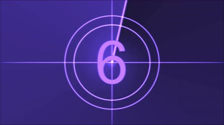 crosshair : Movie Countdown Animation - Purple