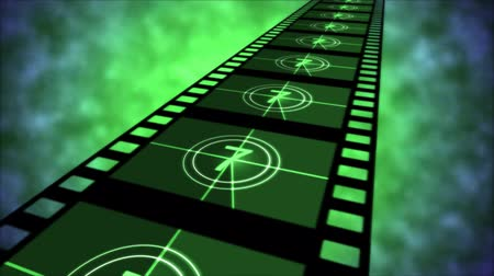 crosshair : Movie Countdown Animation - Loop Green