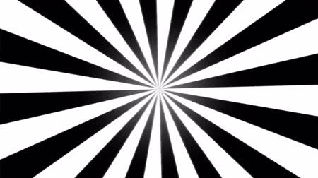 поощрение : Rotating Stripes Background Animation  Loop Black and White