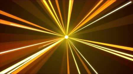 background gold : Rotating Light Beams Animation - Loop Fiery Orange
