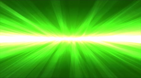 calcário : Shining Light Rays Animation - Loop Green