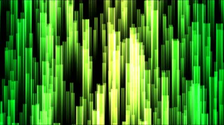 calcário : Rising Colorful Beams Background Animation - Loop Green