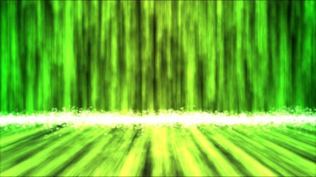 calcário : Abstract Colorful Waterfall Animation - Loop Green