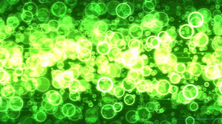 calcário : Fast Colorful Moving Circles Animation - Loop Green