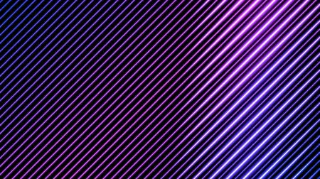 Colorful Diagonal Lines Light Effect Animation - Loop Purple