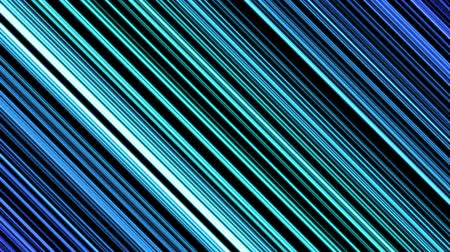 çivit : Colorful Diagonal Beams or Lines Background Animation - Loop Blue Stok Video