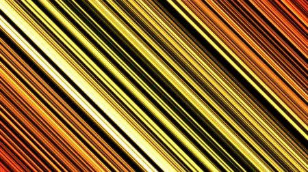 Colorful Diagonal Beams or Lines Background Animation - Loop Golden Orange