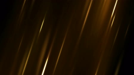 Colorful Diagonal Moving Light Rays Background Animation - Loop Golden Stock mozgókép